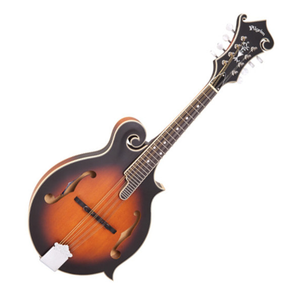 Pilgrim Redwood Mandolin - F Style - Antique Violin Burst