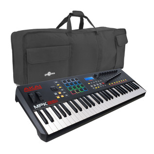 Akai MPK261 MIDI Controller Keyboard with FREE Bag