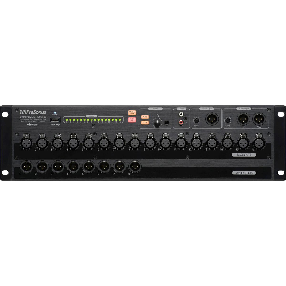 disc presonus rm16ai rack mount software controlled digital mixer at gear4music. Black Bedroom Furniture Sets. Home Design Ideas