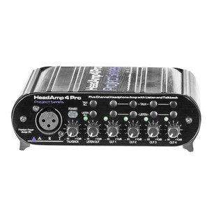 Art HeadAmp 4 Pro, Five Channel Headphone Amplifier with Talkback