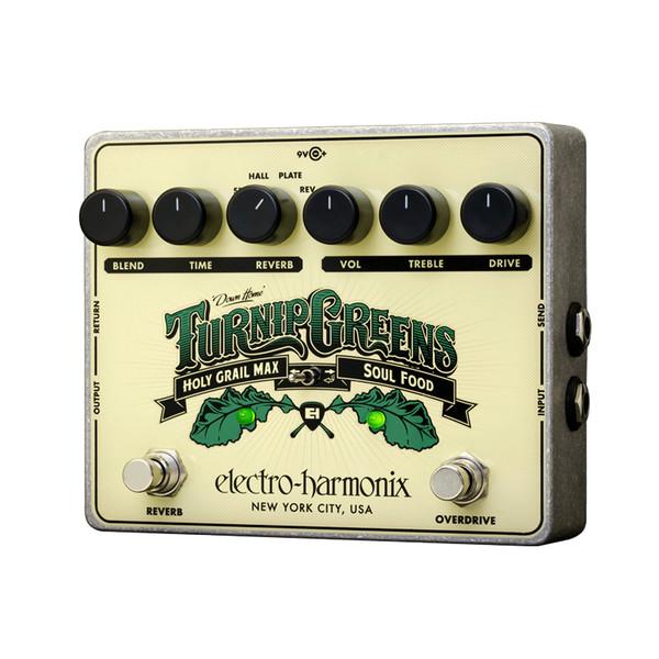 Electro Harmonix Turnip Greens, Holy Grail Max/Soul Food Pedal