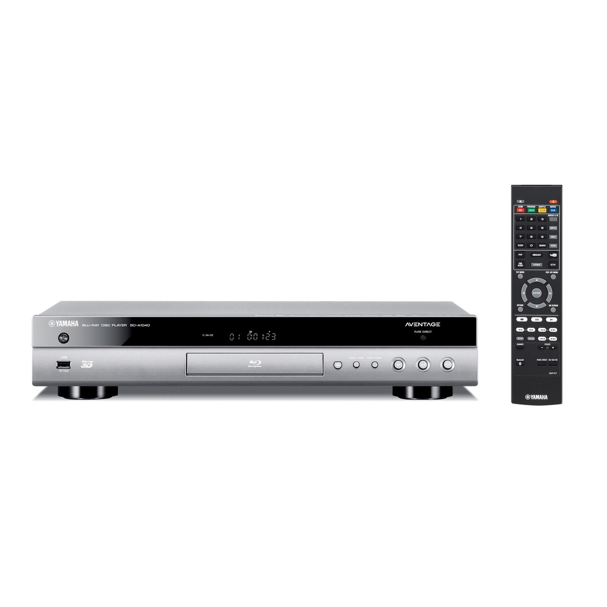 disc yamaha bd a1040 blu ray player titanium at. Black Bedroom Furniture Sets. Home Design Ideas