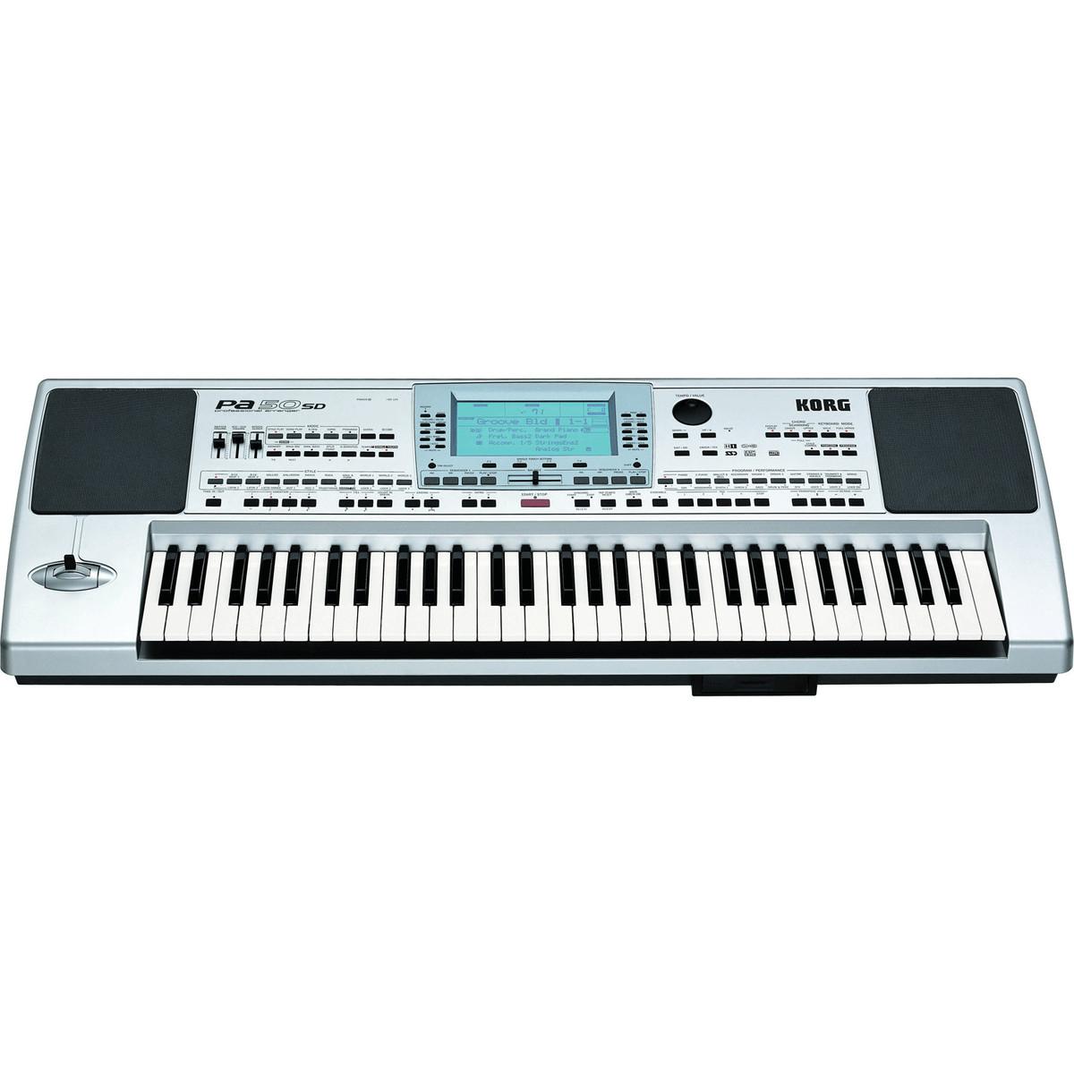 DISC Korg PA50SD Professional Arranger Keyboard