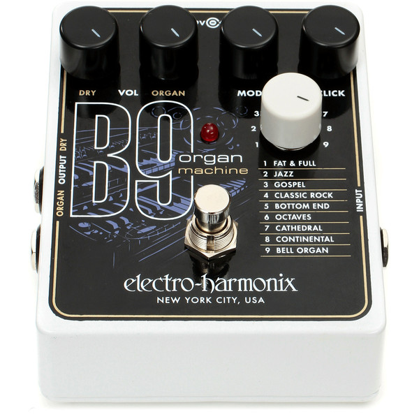 electro harmonix b9 organ machine at gear4music. Black Bedroom Furniture Sets. Home Design Ideas