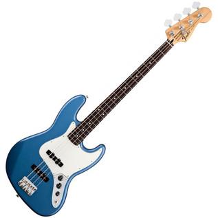 Fender Standard Jazz Bass Guitar, RW, Lake Placid Blue
