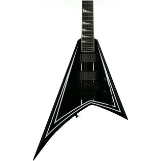Jackson RRXMG X Series Rhoads Guitar, Black w/White Pinstripes