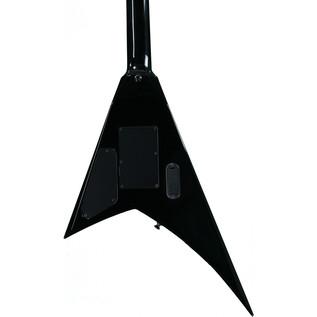 Jackson RRXMG X Series Rhoads Electric Guitar, Black w/Yellow Bevels