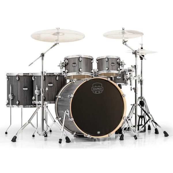 Mapex Mars 22'' Special Edition Fusion 6 Piece Drum Kit, Smokewood