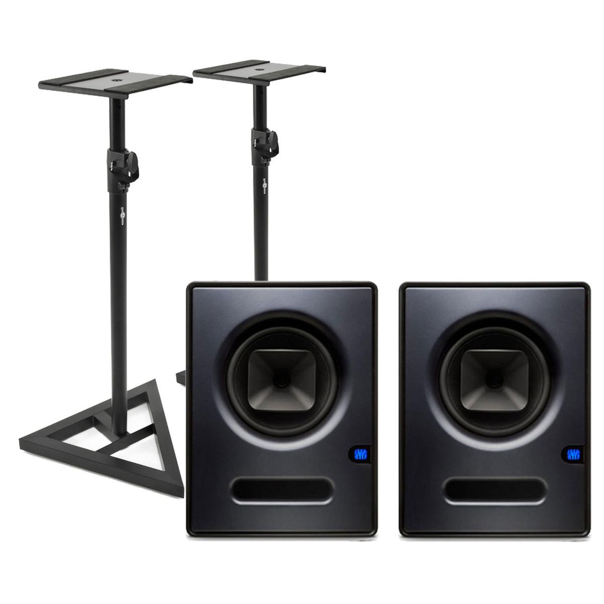 DISC PreSonus Sceptre S8 CoActual Studio Monitors + Free Stands