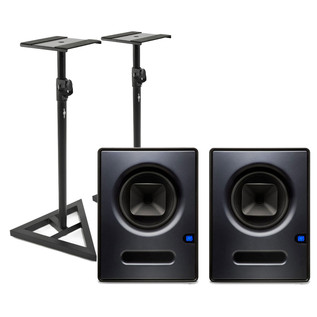 PreSonus Sceptre S8 CoActual Studio Monitors (Pair) + FREE Stands