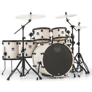 Mapex Mars 22'' Special Edition Fusion 6 Piece Drum Kit, Bonewood