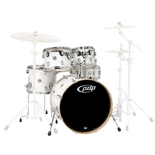 PDP Drums Concept Maple 22'' CM5 Shell Pack, Pearlescent White