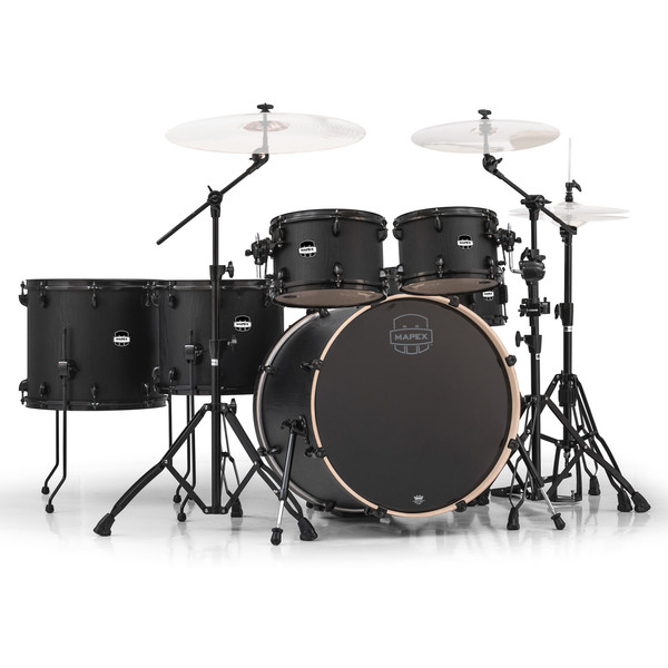 Mapex Mars 22'' Special Edition Fusion 6 Piece Drum Kit, Nightwood