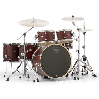 Mapex Mars 22'' Special Edition Fusion 6 Piece Drum Kit, Bloodwood