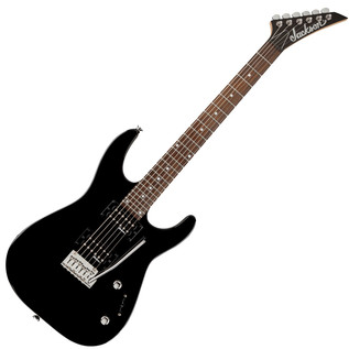 Jackson JS12 Dinky Electric Guitar, Gloss Black