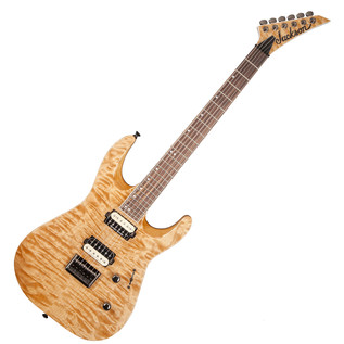 Jackson DK2QHT Pro Series Dinky Electric Guitar, Natural