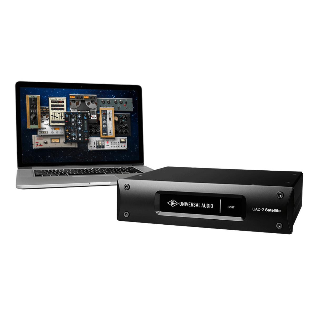 universal audio uad 2 satellite thunderbolt quad core at gear4music. Black Bedroom Furniture Sets. Home Design Ideas