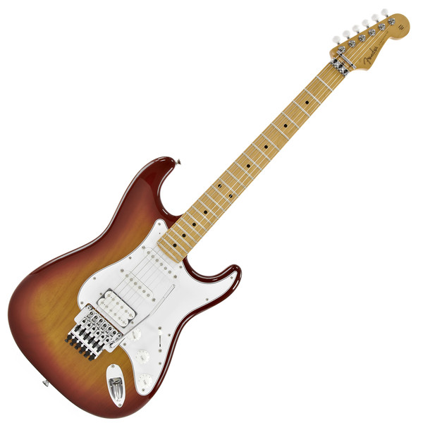 fender japan fsr strat electric guitar w floyd rose cherry sunburst at gear4music. Black Bedroom Furniture Sets. Home Design Ideas
