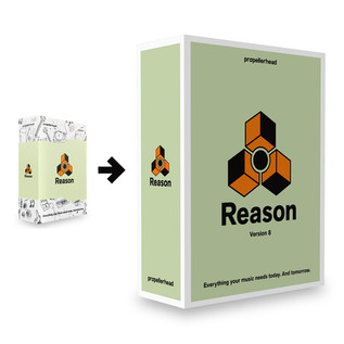 Propellerhead Reason 7 Upgrade For Reason 1-6 - FREE Upgrade to 8
