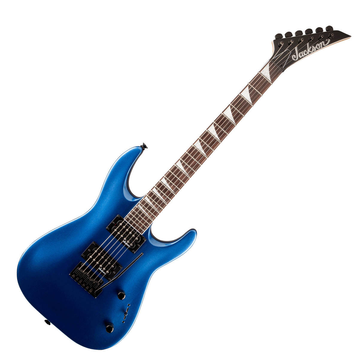 jackson js22 dinky arch top electric guitar metallic blue at gear4music. Black Bedroom Furniture Sets. Home Design Ideas