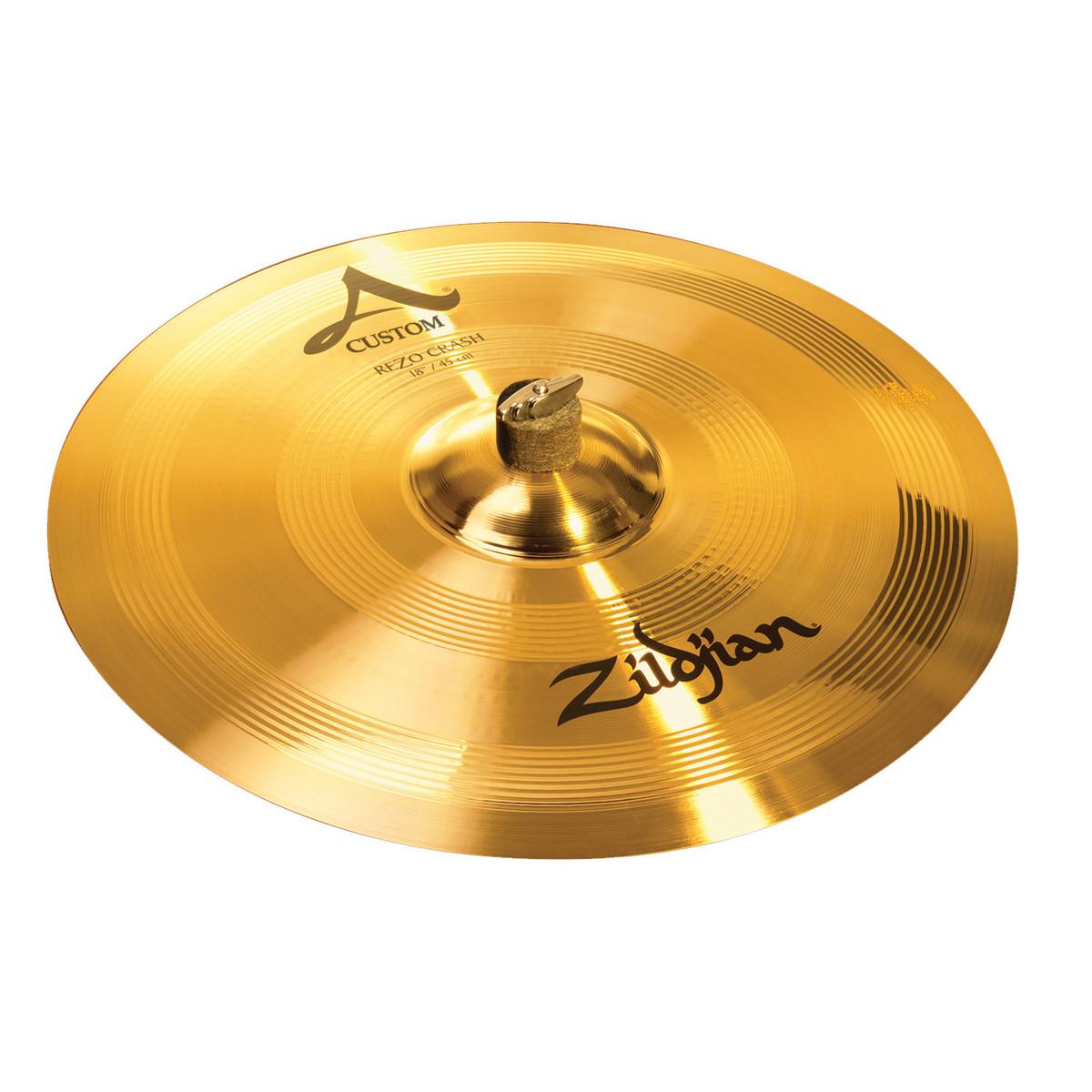 disc zildjian a custom 18 39 39 rezo crash cymbal at gear4music. Black Bedroom Furniture Sets. Home Design Ideas