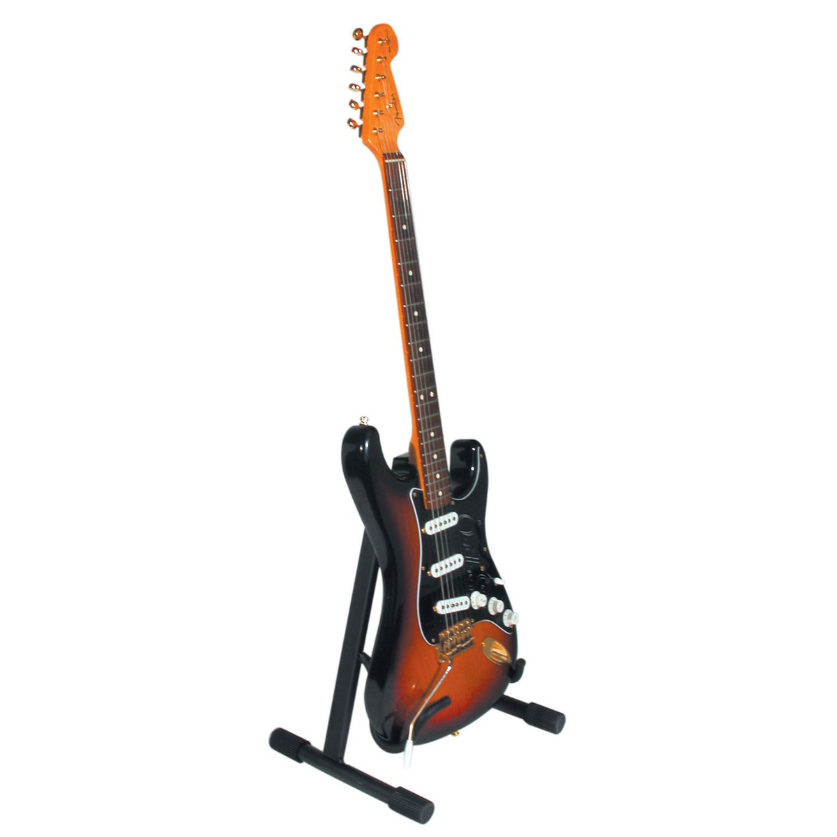 Quiklok Low A Frame GS-346 Electric Guitar Stand, Black at ...