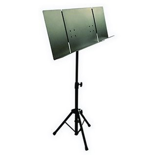 Quiklok Orchestra Sheet Music Stand With Folding Metal Desk
