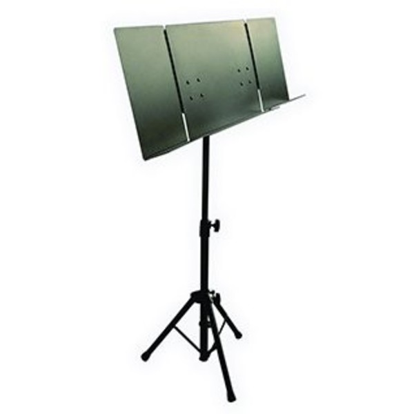 quiklok orchestra sheet music stand with folding metal desk at gear4music. Black Bedroom Furniture Sets. Home Design Ideas