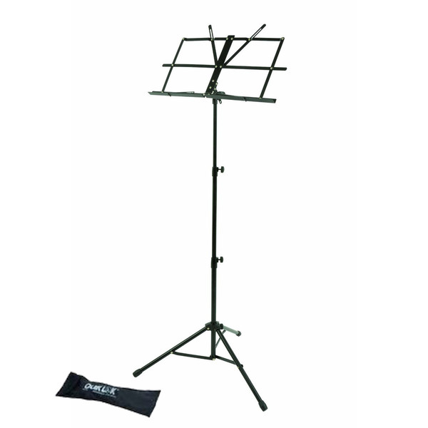 Quiklok Medium-Weight Music Stand With Nylon Carrying Bag