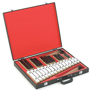 Percussion Plus Chime Bars in A Case, Set Of 25