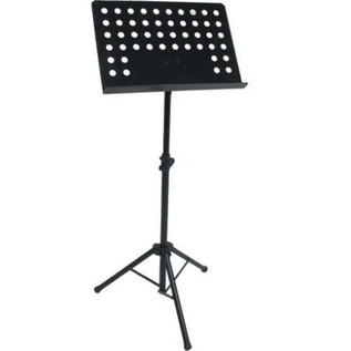 Quiklok Orchestra Sheet Stand With Perforated Metal Desk
