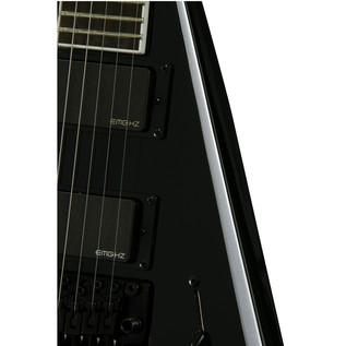 Jackson PDX Demmelition King V Electric Guitar, Black