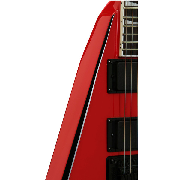 Jackson PDX-2 Demmelition King V Electric Guitar, Red