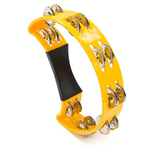 Percussion Plus Half Moon Tambourine PP486/5, Yellow