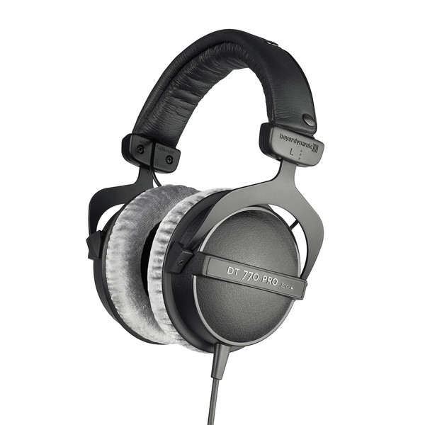 Beyerdynamic DT 770 Pro Headphones, 80 Ohm, Front Angled Right