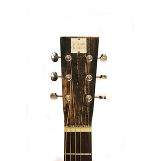 Nineboys Tonk Bros Parlour Guitar, Trashed Black