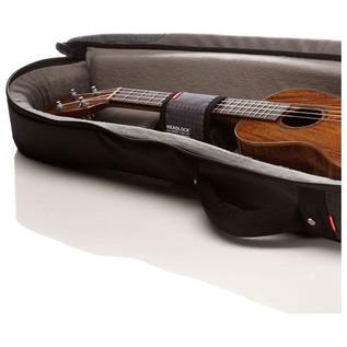 Mono M80 Concert Ukulele Gig Bag, Black