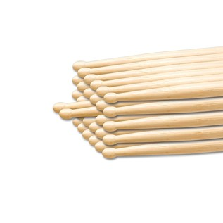 Percussion Plus PP102 2B Stick Brick Budget (12 Pairs)