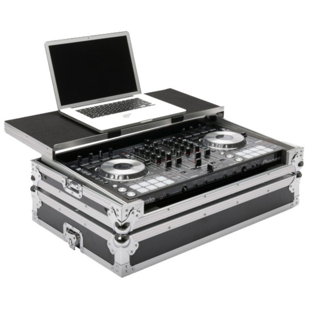 pioneer ddj sx 2 4 channel dj controller with magma workstation case at gear4music. Black Bedroom Furniture Sets. Home Design Ideas