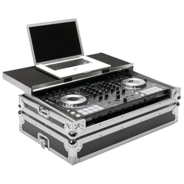Pioneer DDJ-SX 2, 4 Channel DJ Controller with Magma Workstation Case