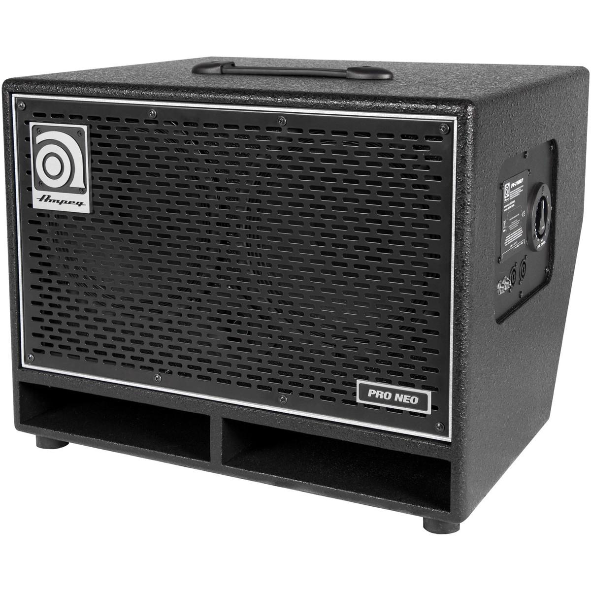 ampeg pn 210hlf 2 x 10 39 39 speaker cabinet at gear4music. Black Bedroom Furniture Sets. Home Design Ideas