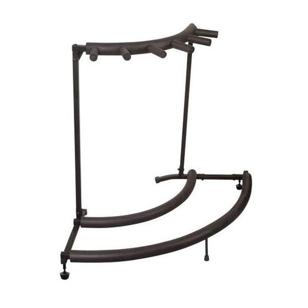 Warwick Rockstand Corner Guitar Stand, 5 Instruments, Black
