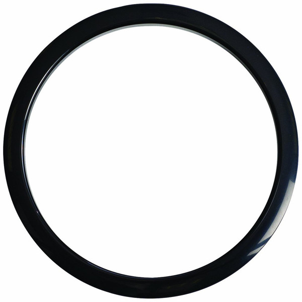 Gibraltar Kick Port Hole Protector, 5'' Black