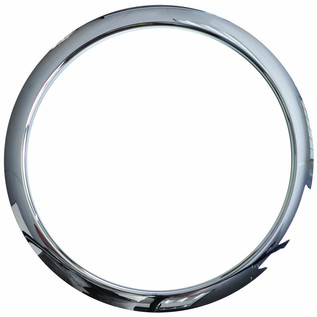 Gibraltar Kick Port Hole Protector, 5'' Chrome