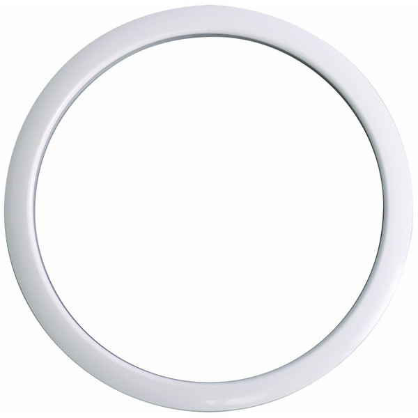 Gibraltar Kick Port Hole Protector, 5'' White