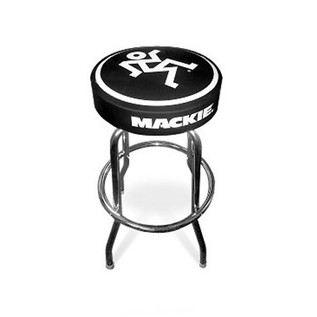 Mackie Studio Stool with Mackie Logos, 30'' Height