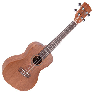 Laka Series Concert Acoustic Ukulele, Solid Mahogany