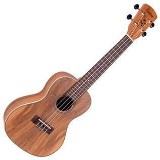 Laka Series Concert Acoustic Ukulele, Solid Koa