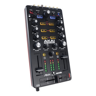 Akai AMX Mixing Surface with Audio Interface for Serato DJ 4