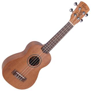 Laka Series Soprano Acoustic Ukulele, Solid Mahogany